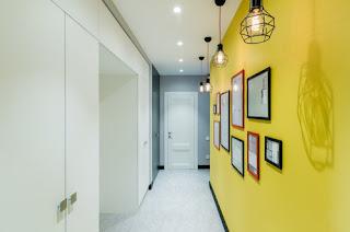 Подбор цвета для коридора - Желтая передняя Волгоград