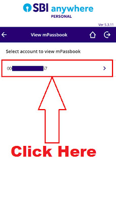 how to reset pin for sbi mpassbook in sbi anywhere app