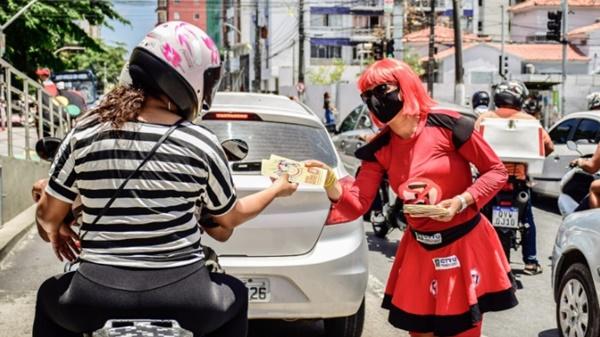 PCR celebra Dia Mundial Sem Carro com implantação de ciclofaixa e ações educativas e ambientais nas ruas