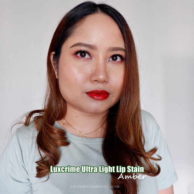 Swatch Luxcrime Ultra Light Lip Stain Amber