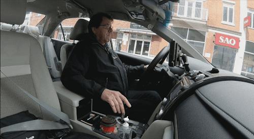 Chauffeur De Service Voiturier