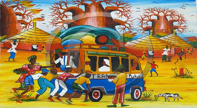 LE TRANSPORT PUBLIC DES CAR RAPIDE A DAKAR : Art, artisanat, culture, tourisme, LEUKSENEGAL,Dakar, Sénégal, Afrique