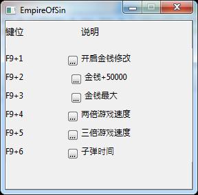 Empire of Sin: Trainer (+5) [1.0]