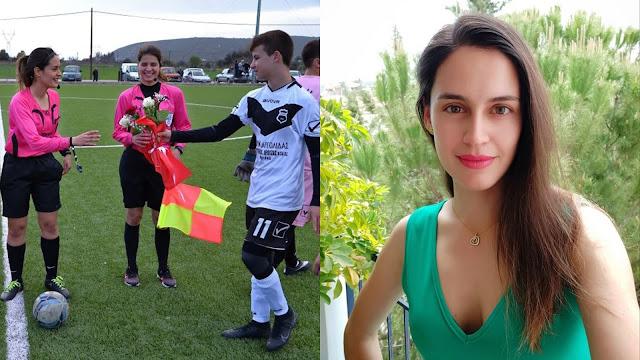 Αναστασία Σιαχάμη: Τα τελευταία χρόνια το γυναικείο ποδόσφαιρο στην Ελλάδα έχει δείξει στοιχεία ανάπτυξης