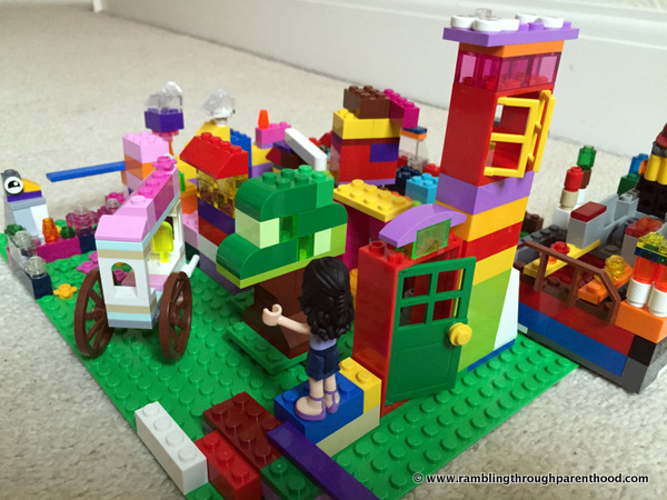 Creating Our Dream Home with Lego