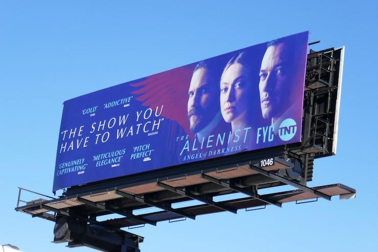 Alienist Angel of Darkness FYC billboard