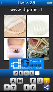 PACCHETTO 7 Soluzioni Trova la Parola - Foto Quiz con Immagini e Parole livello 25