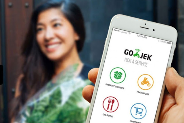 Aplikasi Go-jek Indonesia