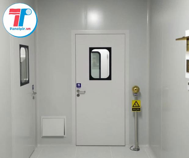 Cửa panel PIR phòng sạch