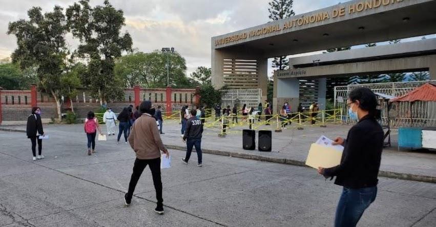 UNAH: Resultados Examen Admisión 15, 16 y 17 Diciembre 2020 - Ranking Universidad Nacional Autónoma de Honduras (Publicación Viernes 26 Febrero 2021) www.unah.edu.hn