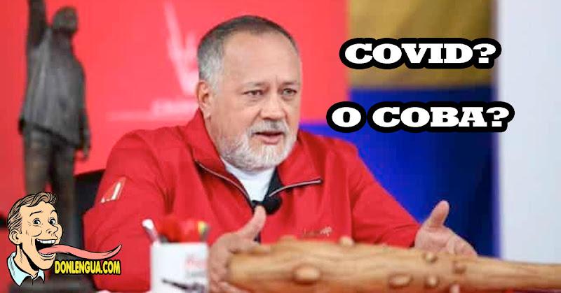 HIERBA MALA   Venezolanos dudan que Diosdado tenga COVID