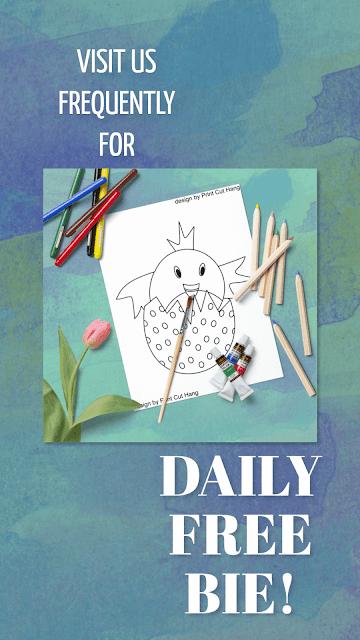 Daily Freebie Day 28 Pin