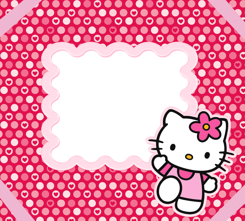 Hello Kitty Pink Cute Wallpaper Bergerak Hello Kitty Borders Images And Backgrounds Oh My