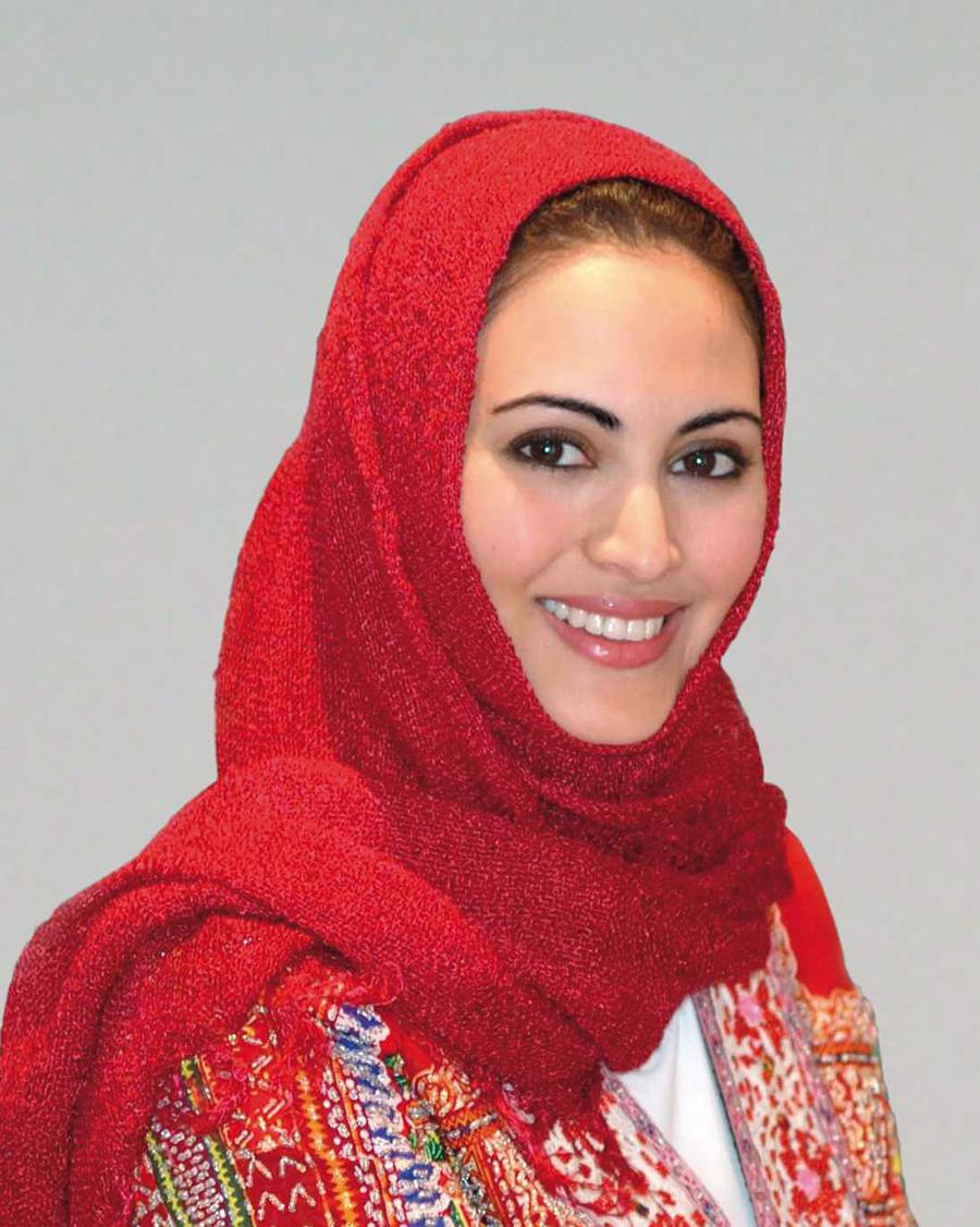artis Arab Saudi manis Muna AbuSulayman Jilbab