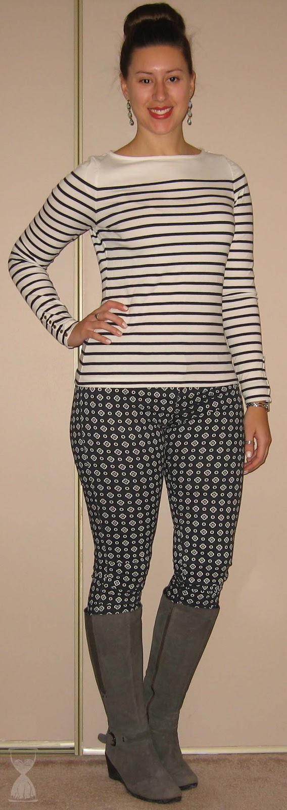 COUTURE DU JOUR by Mimi  TBT - Spots and Stripes 4fc18f8389f