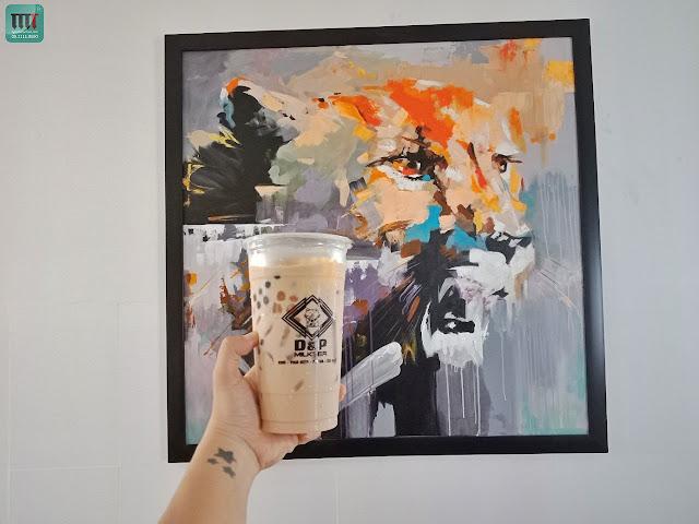 tranh tuong doc dao danh cho quan cafe tra sua