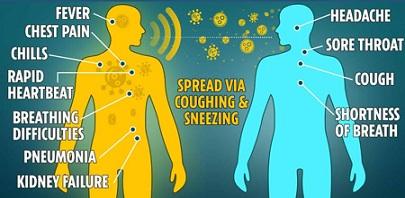 Corona Niesen Symptom