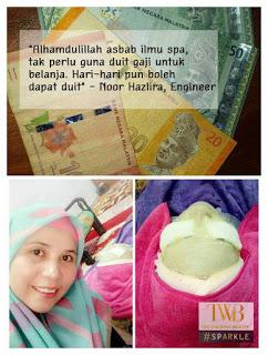 Mobile spa, kursus spa murah, spa malaysia, kursus kecantikan, twb, the walking beauty