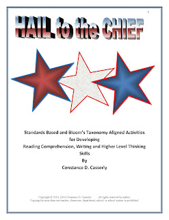 President's Day ELA and Government Activity: Hail to the Chief