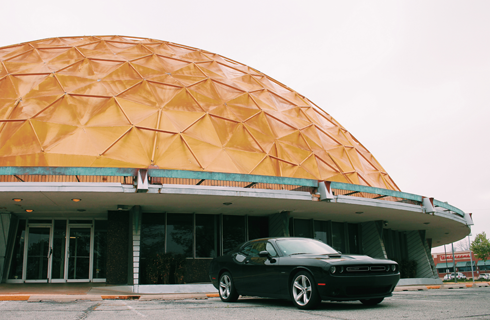 Gold Dome Oklahoma City Route 66