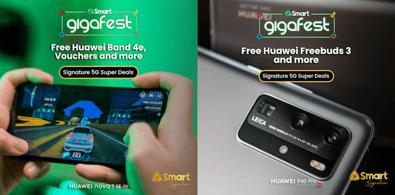 Huawei nova 7 SE & P40 Pro