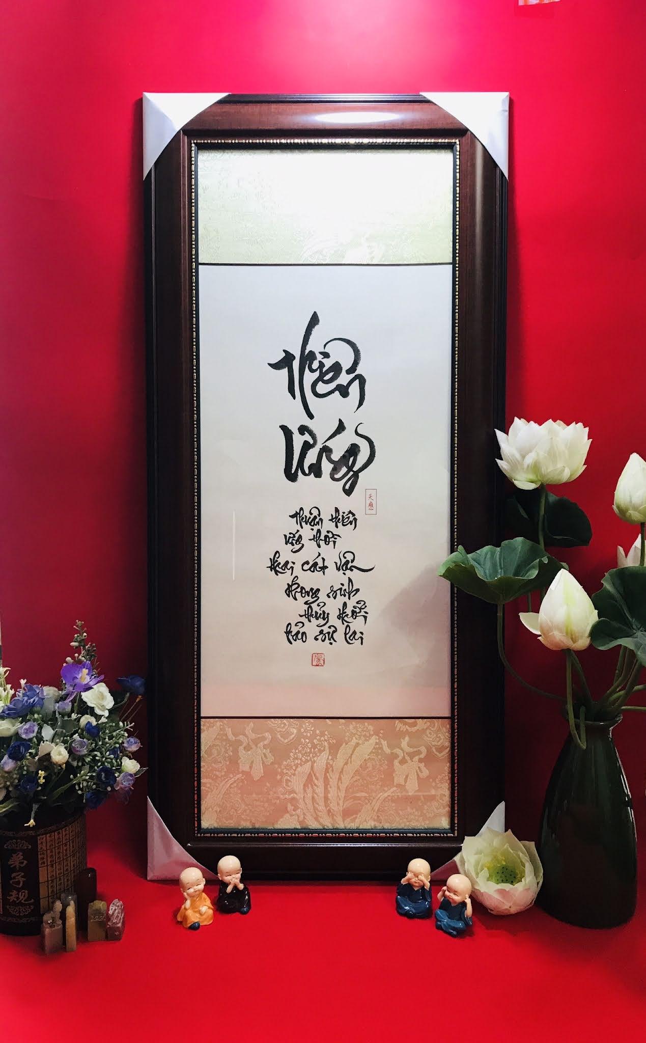 Dịch vụ viết chữ thư pháp chuyên nghiệp tại Hà Nội