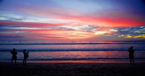 Beach Sunset di Pantai Dreamland