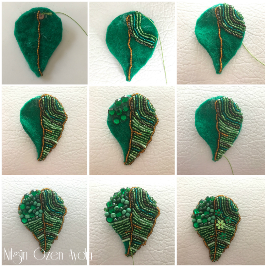 Yaprak Küpe Yapımı - DIY
