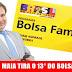 Em plena Pandemia Rodrigo Maia tira o 13° do Bolsa Família proposto por Bolsonaro, Maia não pautou a MP que veio caducar assim perdendo validade