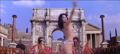 Life-size replica of the Arch of Constantine in the 1963 movie Cleopatra.