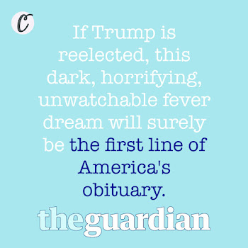 If Trump is reelected, this dark, horrifying, unwatchable fever dream will surely be the first line of America's obituary.