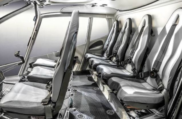 Eurocopter EC130 interior