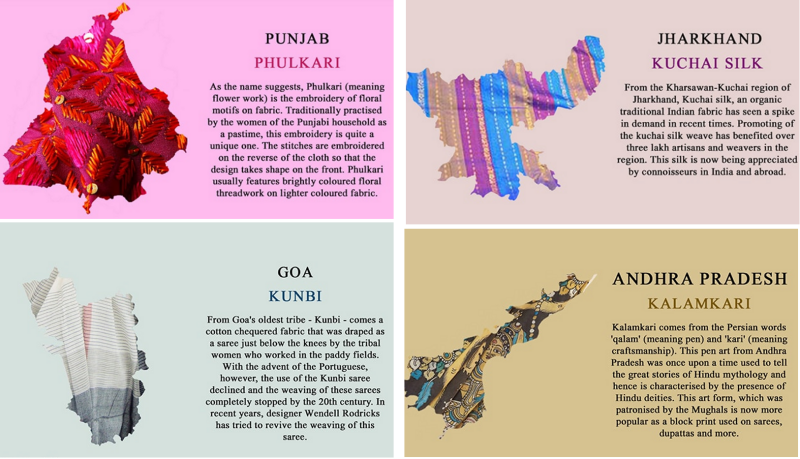 f9e58bbb82 These textile maps of Pakistan and India show the rich diversity of fashion  across each country.