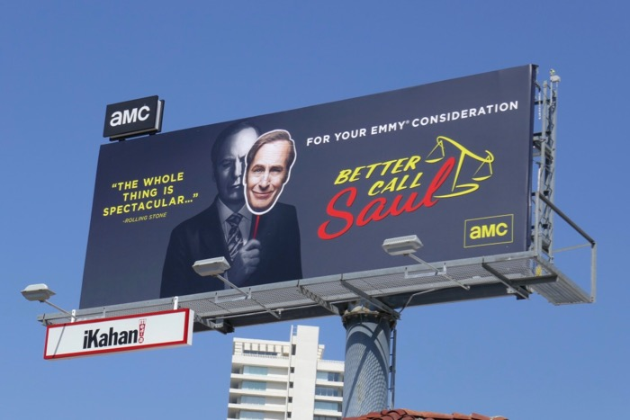 Better Call Saul season 4 Emmy FYC billboard