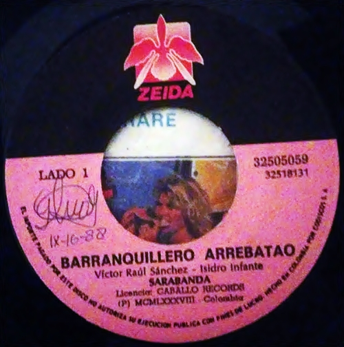 Lyrics de Sarabanda