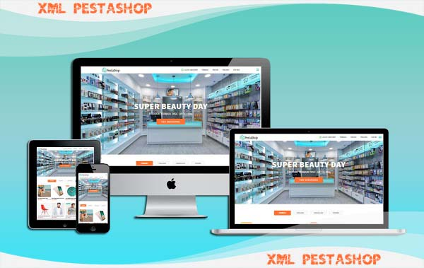 XML PestaShop Responsive Blogger Template