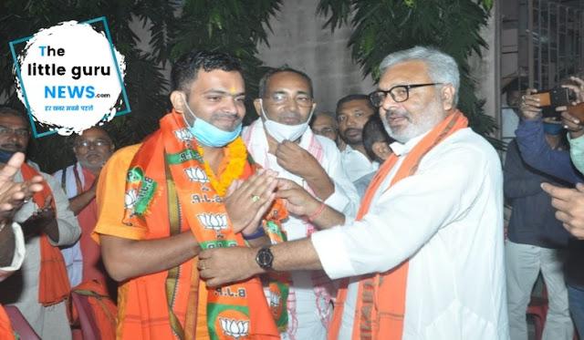 राजद के व्यवसाय प्रकोष्ठ के महासचिव पवन कुमार सर्राफ ने राजद छोड़ भाजपा की ली सदस्यता