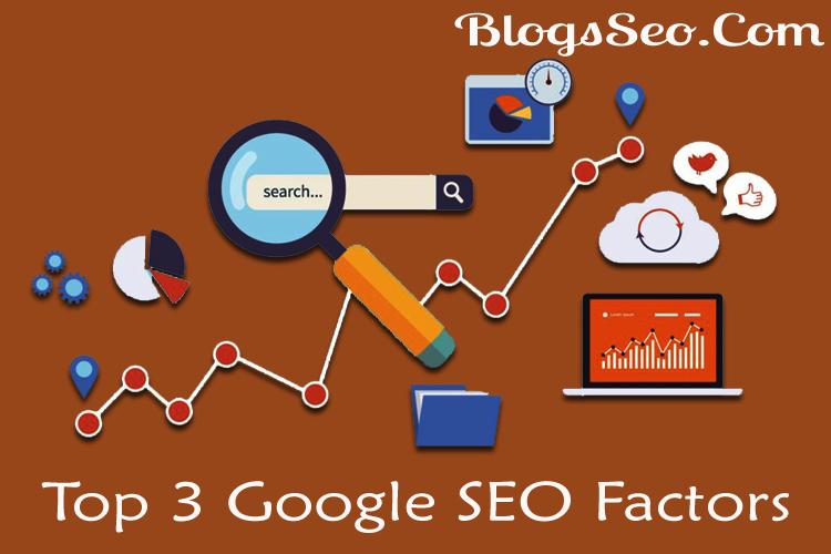 Google SEO 200 Factors