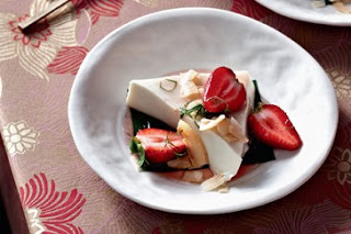 Resep Puding Strawberry Coconut Sweet