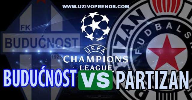 Liga šampiona: Partizan - Budućnost UŽIVO PRIJENOS ONLINE [11.07.2017 20:45]