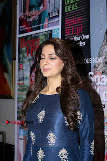 Bollywood Actress Juhi Chawla Launchs Better Homes 10th Anniversary Celetion Cover  0001.JPG
