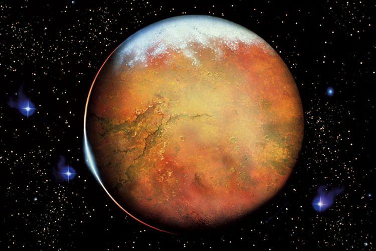 Ada Lumpur di Mars, Mungkinkah Planet Merah Punya Air?