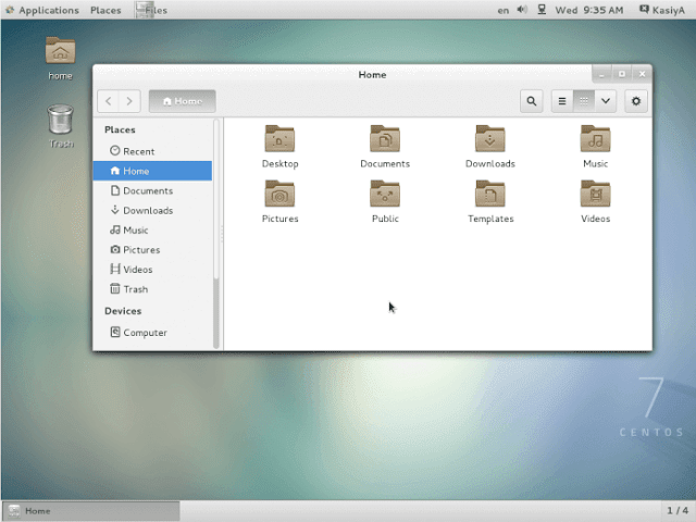 Distribusi Linux centos