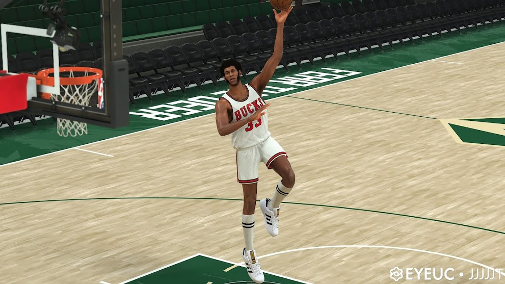Kareem Abdul-Jabbar Cyberface, Hair and Body Model Dual Versions By JT [FOR 2K21]