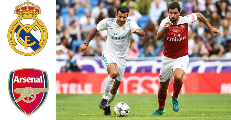 نتيجة مباراة ريال مدريد وارسنال بتاريخ 24-07-2019 الكأس الدولية للأبطال