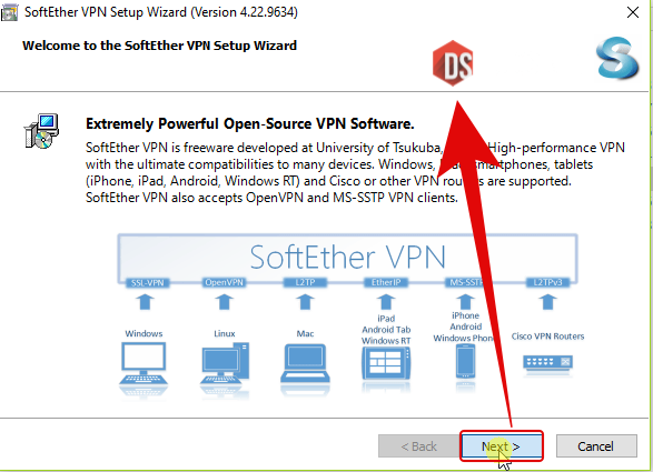 Menginstall SoftEther VPN