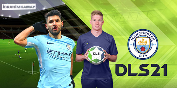 Manchester City - Dream League Soccer 2021 Forma Kits & Logo