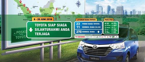 Posko Siaga Toyota Mudik Lebaran 2018