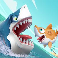 Hungry Shark Heroes  (God Mode - 1 Hit Kill) MOD APK