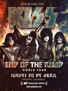 Concierto de KISS en Bogotá - Colombia